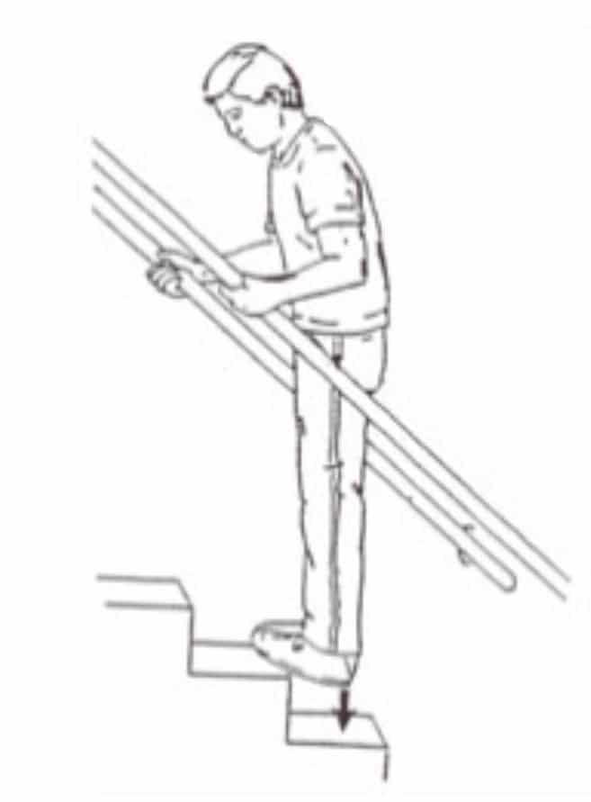 esercizi-fascite-04 La Spina Calcaneare cure e rimedi