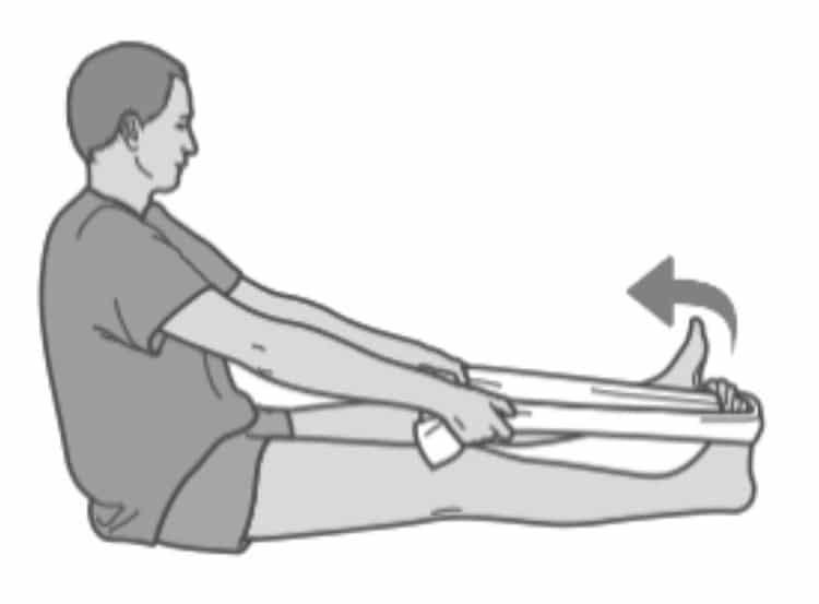 esercizi-fascite-06 La Spina Calcaneare cure e rimedi