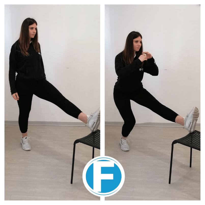 squat-su-una-gamba Gli esercizi anticellulite